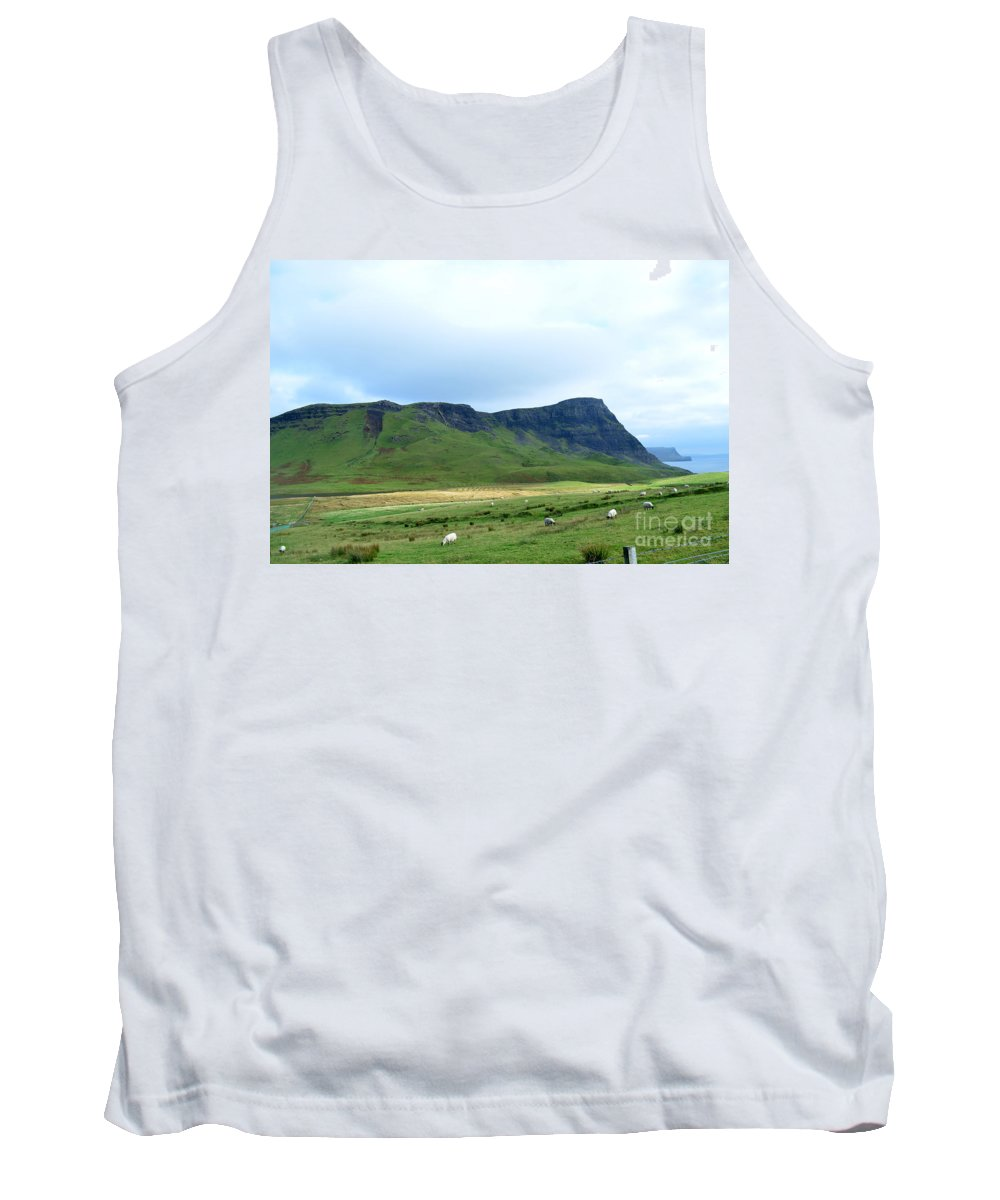 Skye Tank Top featuring the photograph The Isle Of Skye In Scotland by DejaVu Designs