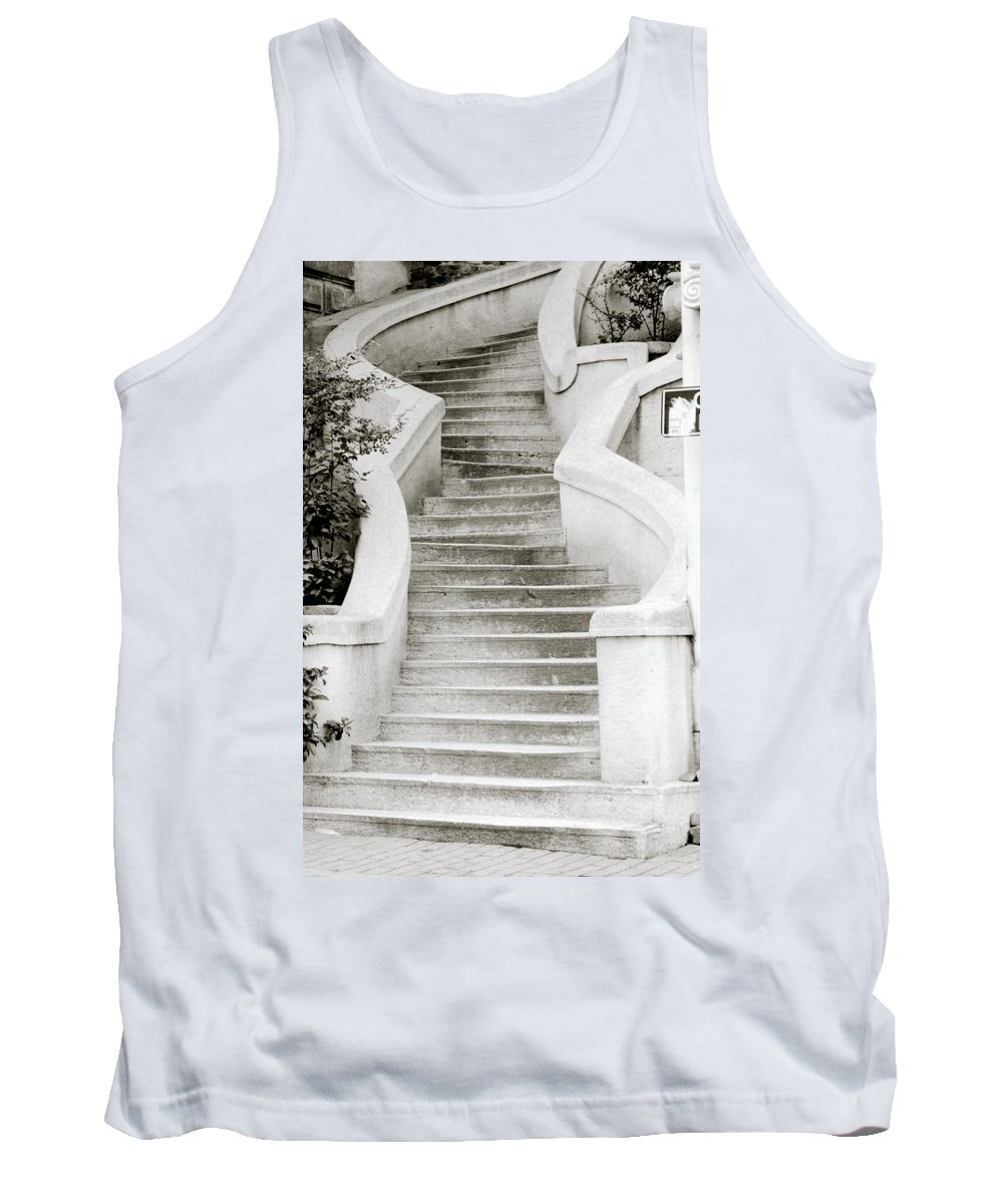 Istanbul Tank Top featuring the photograph The Kamondo Steps by Shaun Higson