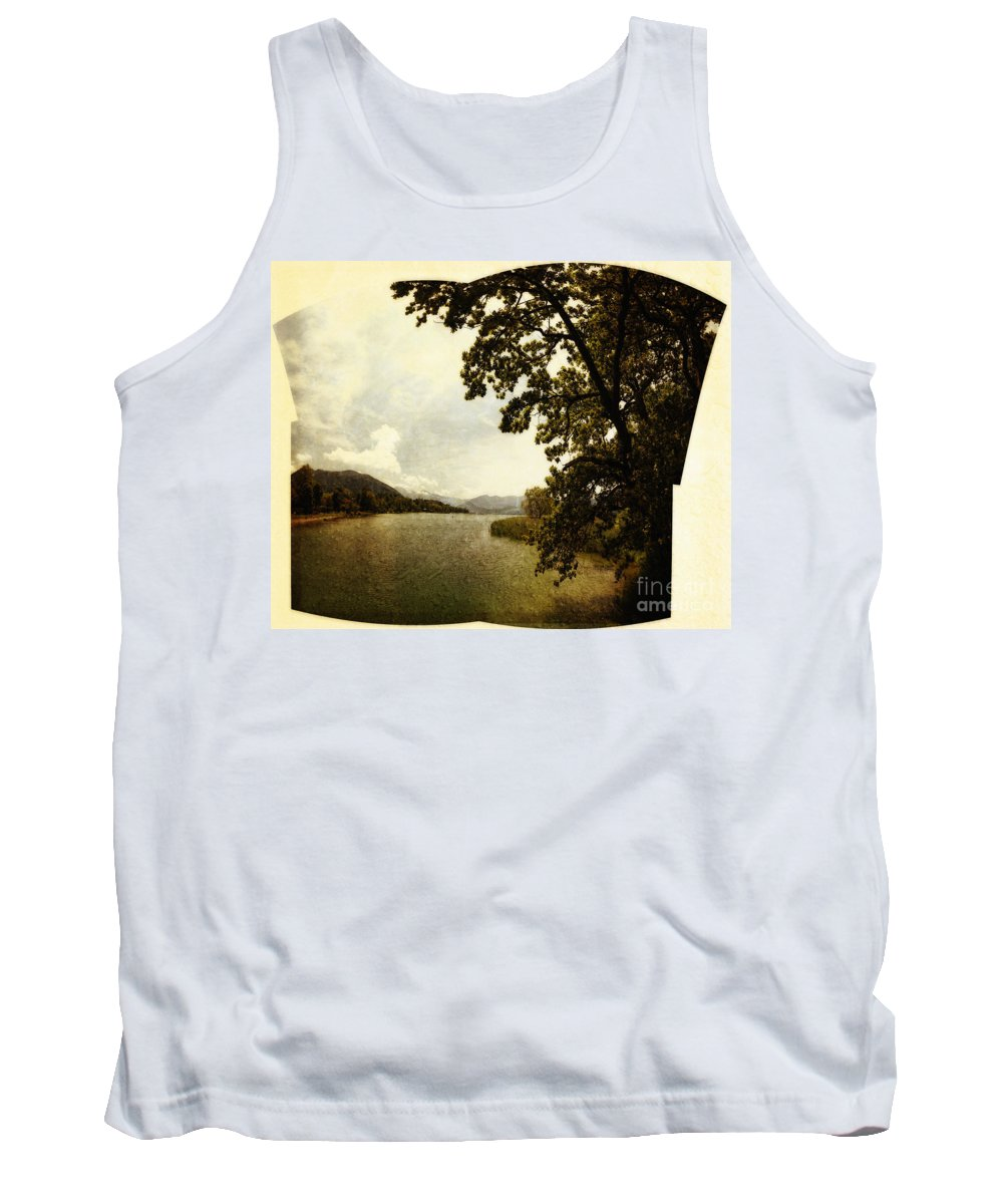 Nag004130 Tank Top featuring the photograph The Lake by Edmund Nagele