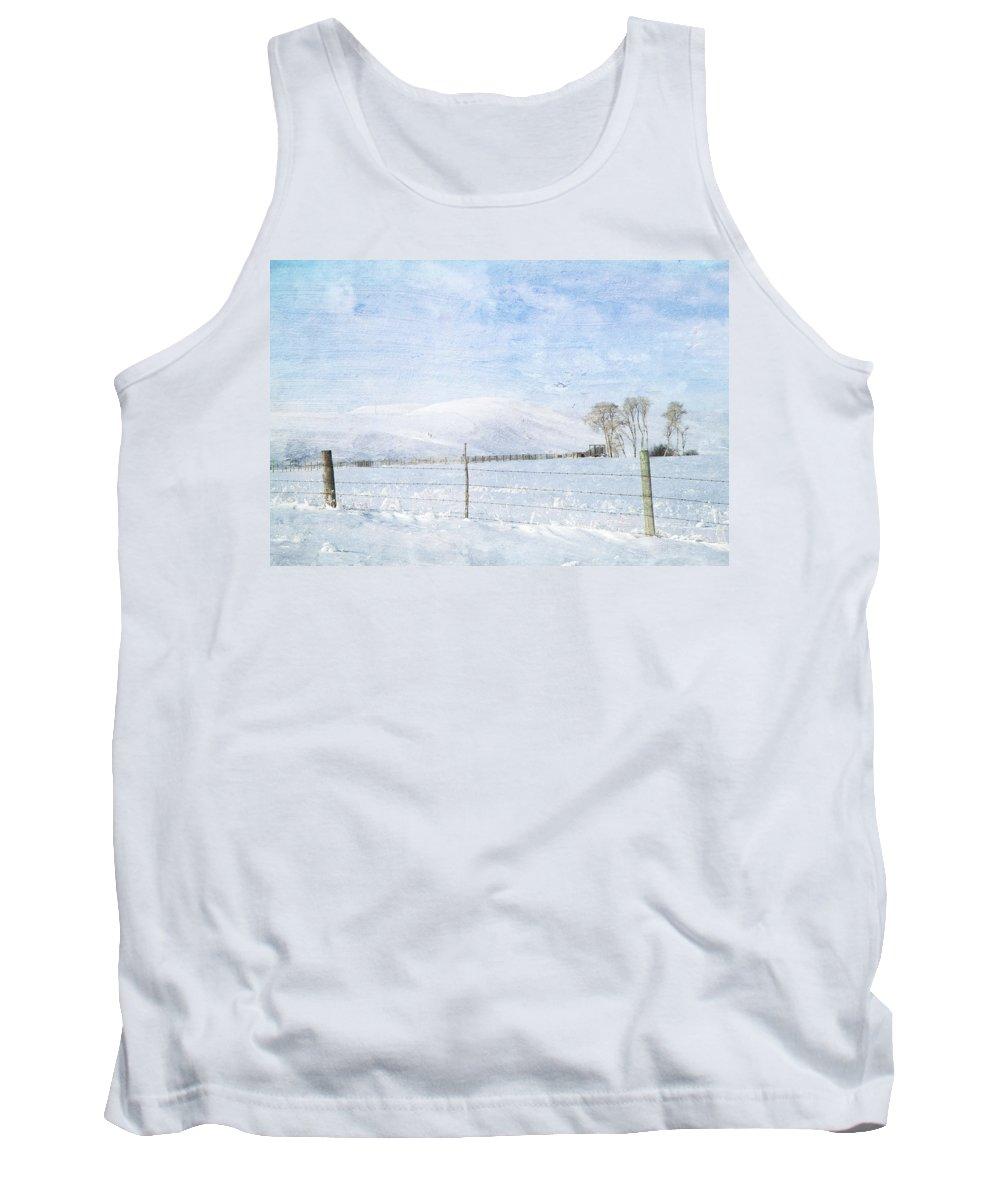 Winter Tank Top featuring the photograph The Last Season by Theresa Tahara