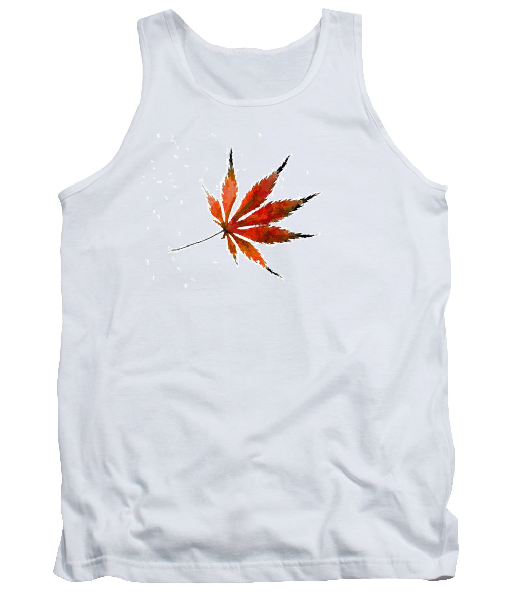 Acer Palmatum Tank Top featuring the photograph The Magical Colors Of Fall by Kathy Clark