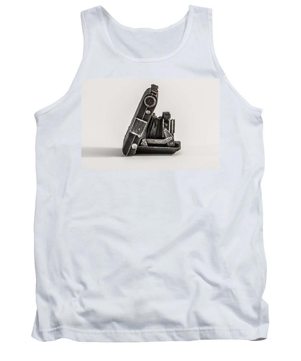 Old Tank Top featuring the photograph The Old Camera by Bill Cannon