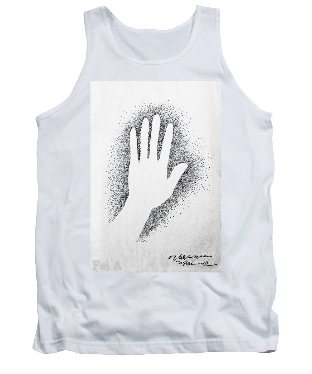 Abstract Tank Top featuring the drawing Ashes by Fei A