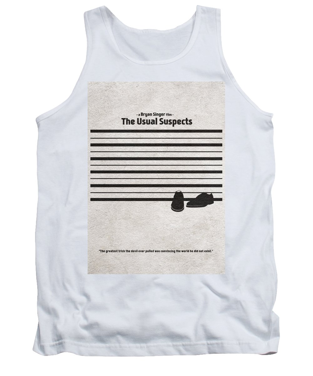 The Usual Suspects Tank Top featuring the digital art The Usual Suspects by Inspirowl Design