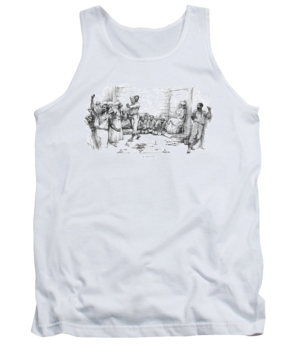 1885 Tank Top featuring the drawing The Voodoo Dance by Granger