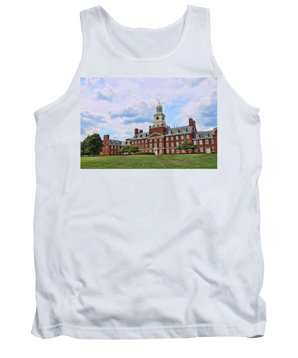 Rutgers Tank Top featuring the photograph The Waksman Institute Of Microbiology by Allen Beatty