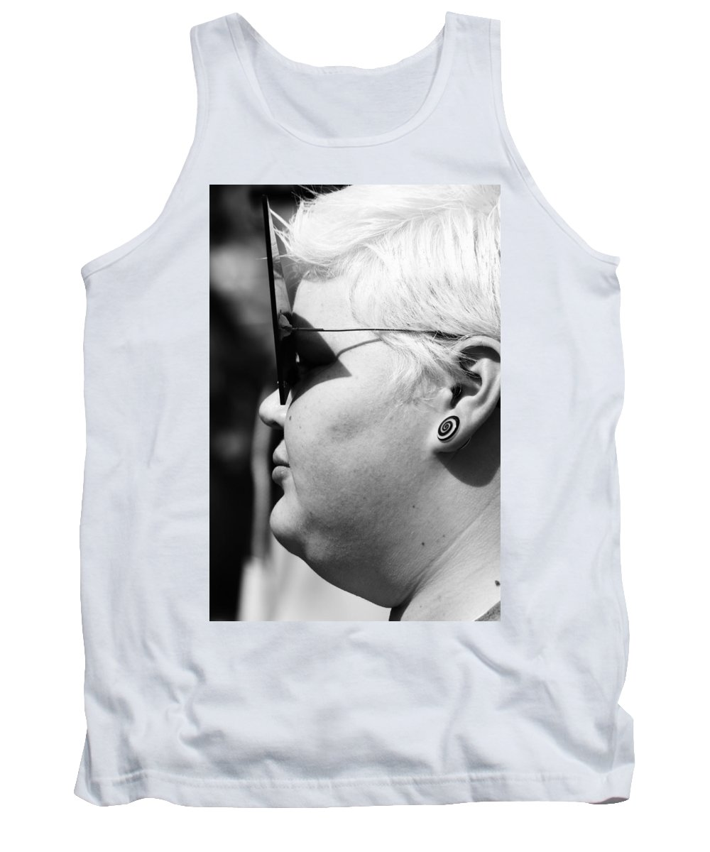 Street Photography Tank Top featuring the photograph The Way To Impress by The Artist Project