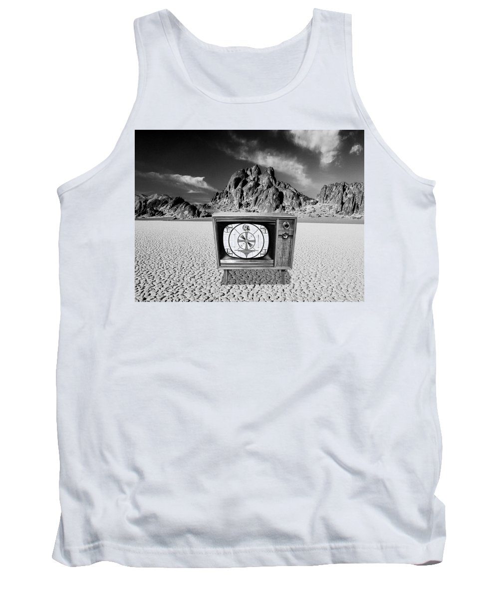 Only A Test Tank Top featuring the photograph This Is Only A Test by Dominic Piperata