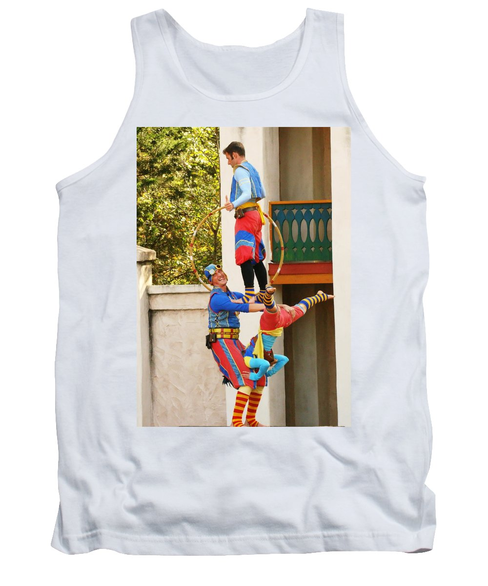 Fine Art Tank Top featuring the photograph Those Awkward Moments by Rodney Lee Williams