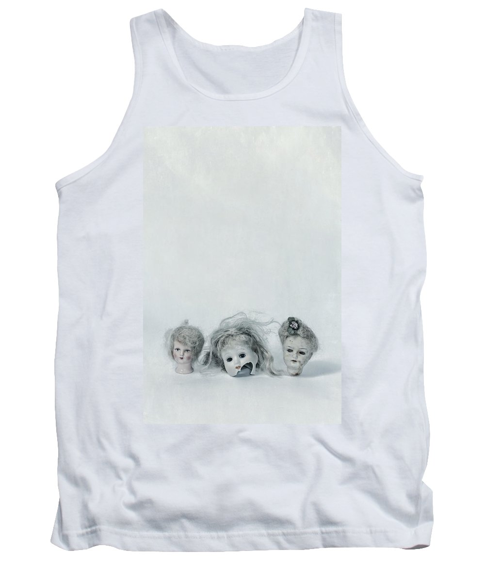 Doll Tank Top featuring the photograph Three Heads by Joana Kruse