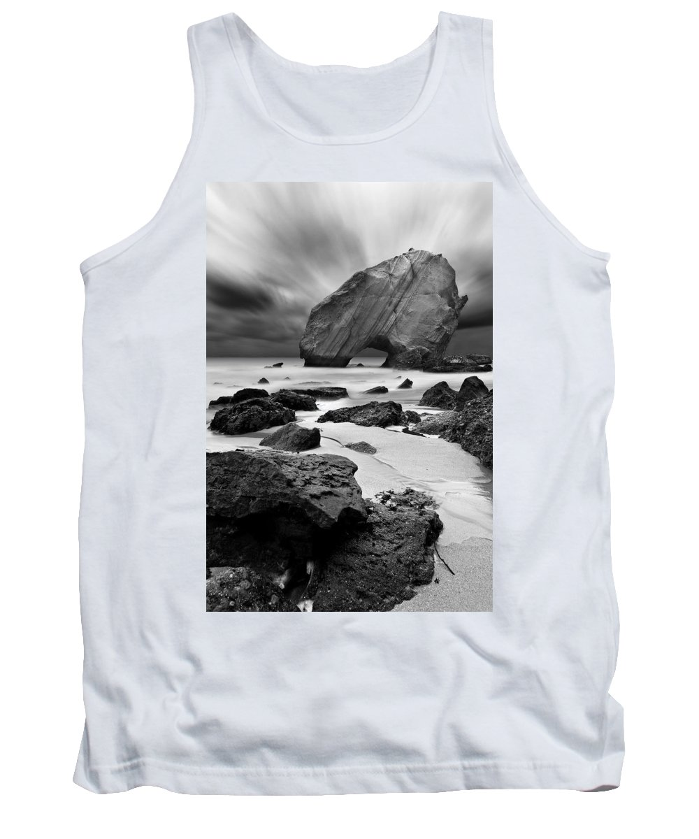Bw Tank Top featuring the photograph Time Lapse by Jorge Maia