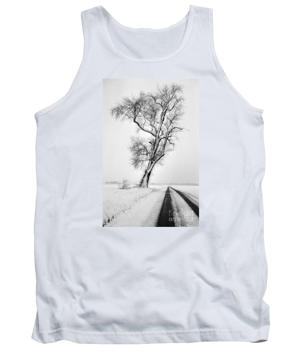 Nature Tank Top featuring the photograph To The Other Side by Skip Willits