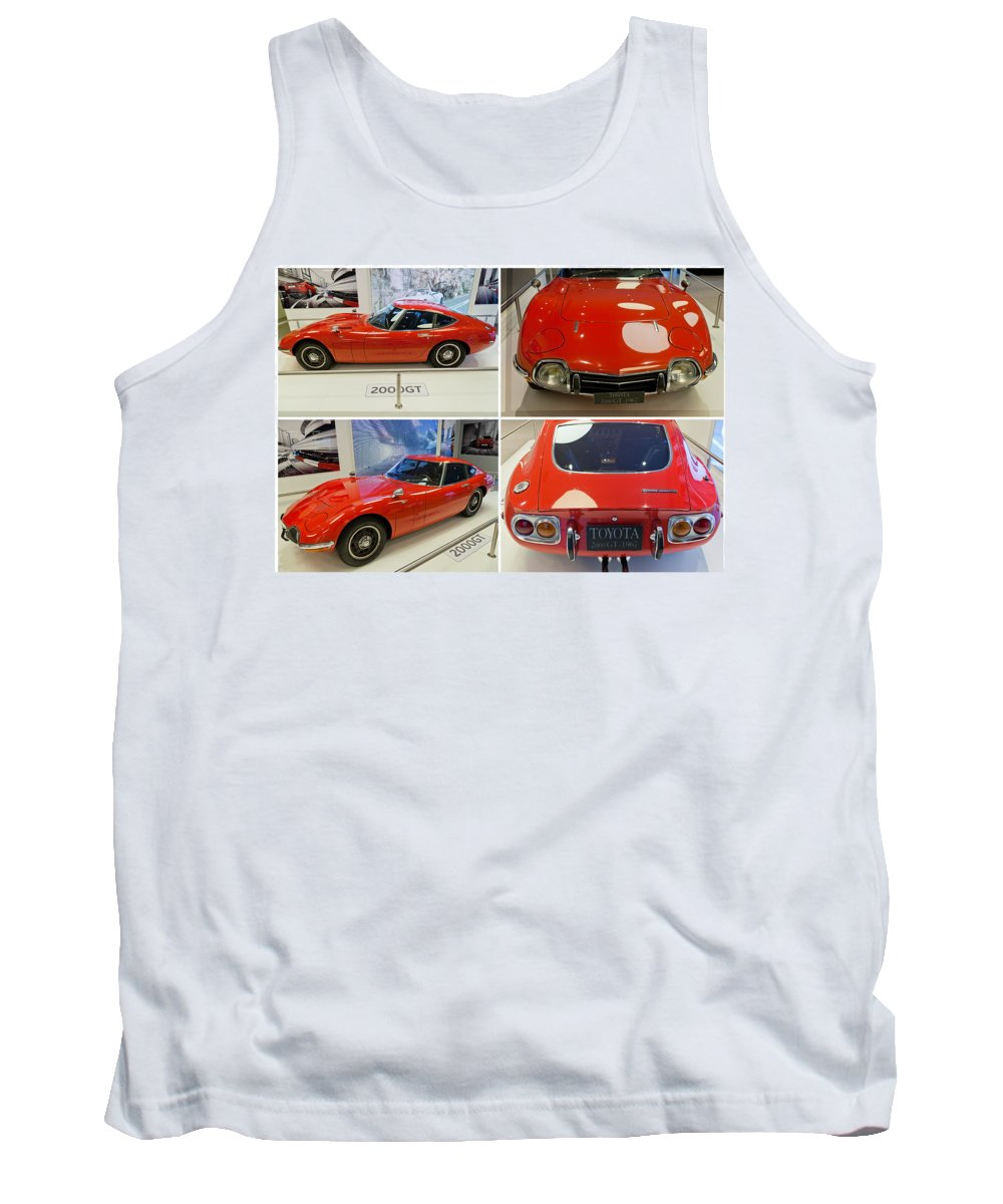 Toyota Tank Top featuring the photograph Toyota 2000 Gt by Maj Seda
