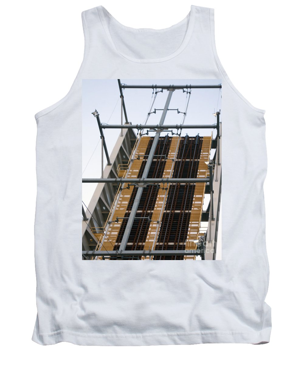 Train Tank Top featuring the photograph Tracks To Nowhere by Ray Konopaske