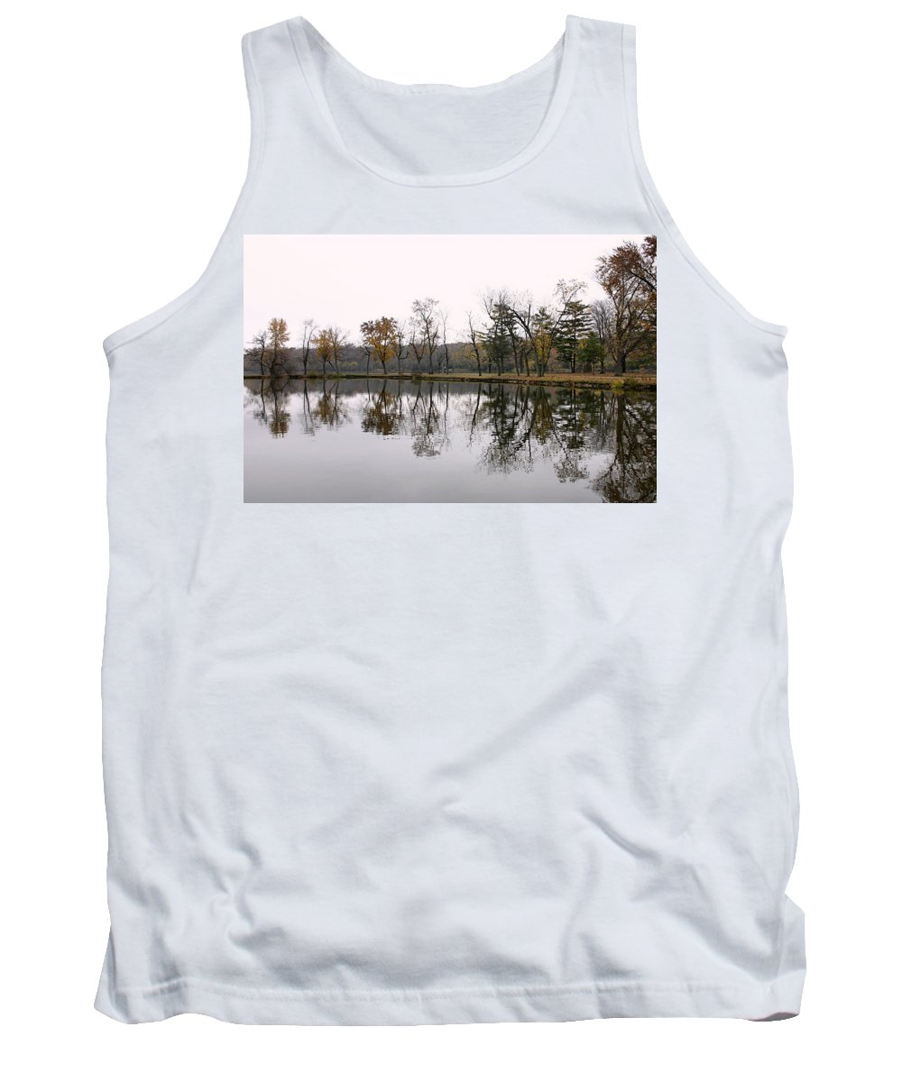 Lake Tank Top featuring the photograph Tranquil Reflections by Ely Arsha