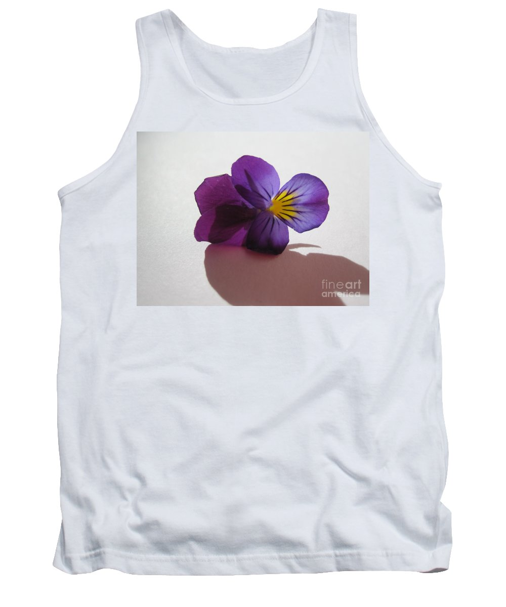 Floral Tank Top featuring the photograph Transparency 2 by Tara Shalton