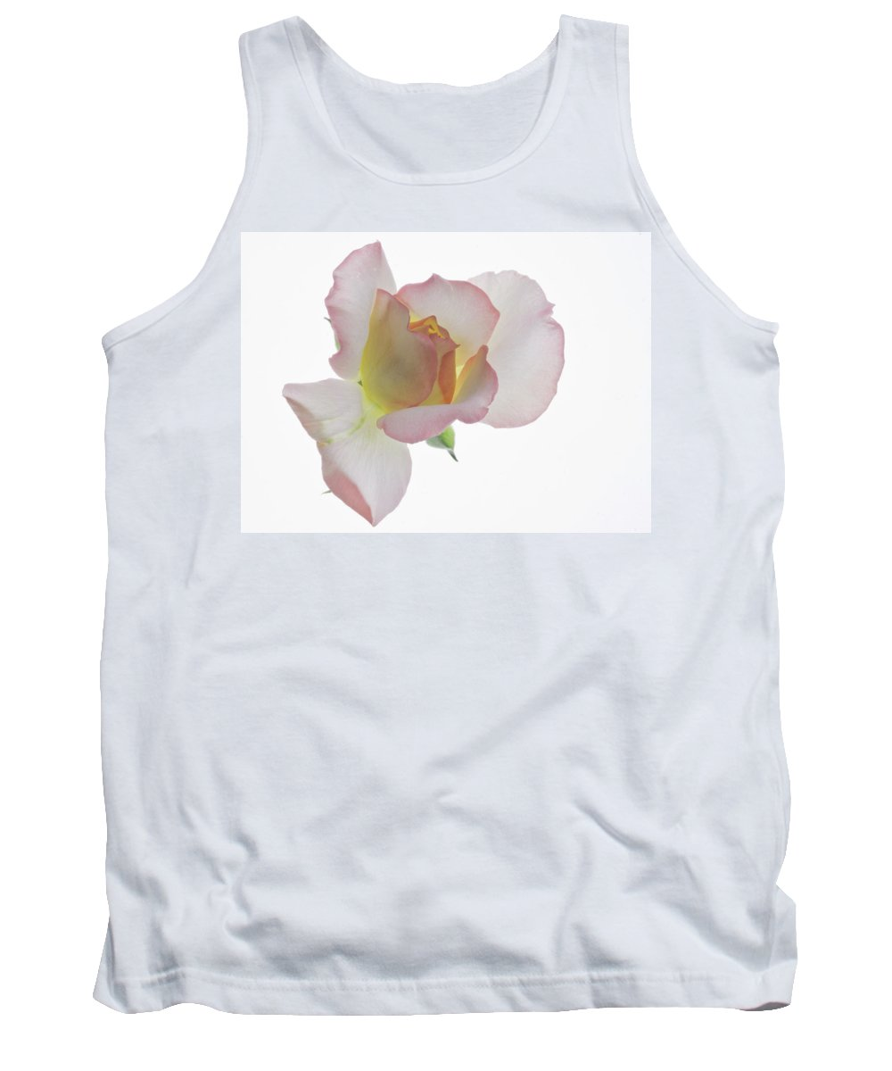 Rose Tank Top featuring the photograph Transparent Rose 2 by James Ekstrom