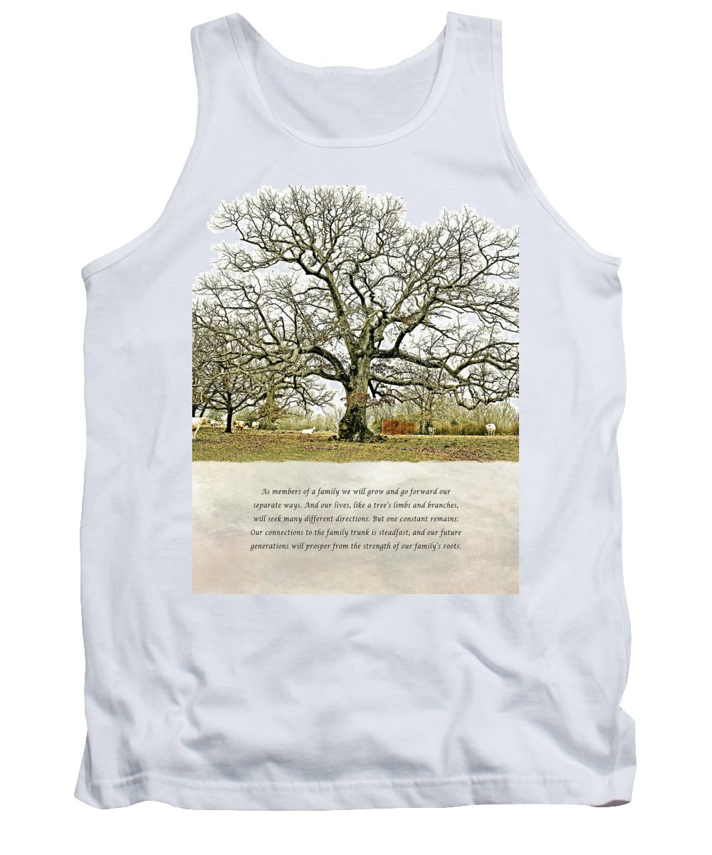 North Carolina Tank Top featuring the photograph Tree Of Life by Stephen Warren