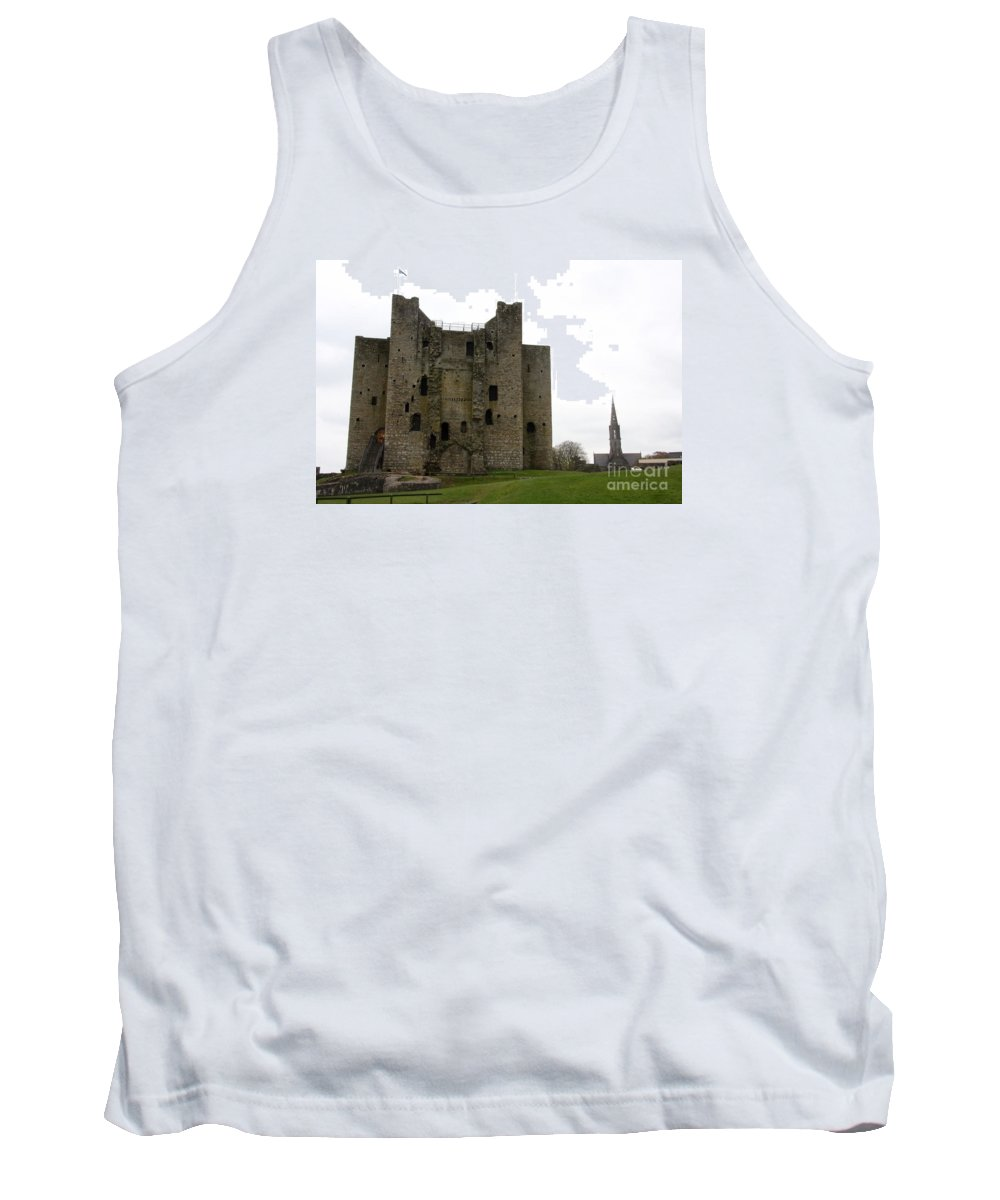 Trim Castle Tank Top featuring the photograph Trim Castle - Ireland by Christiane Schulze Art And Photography