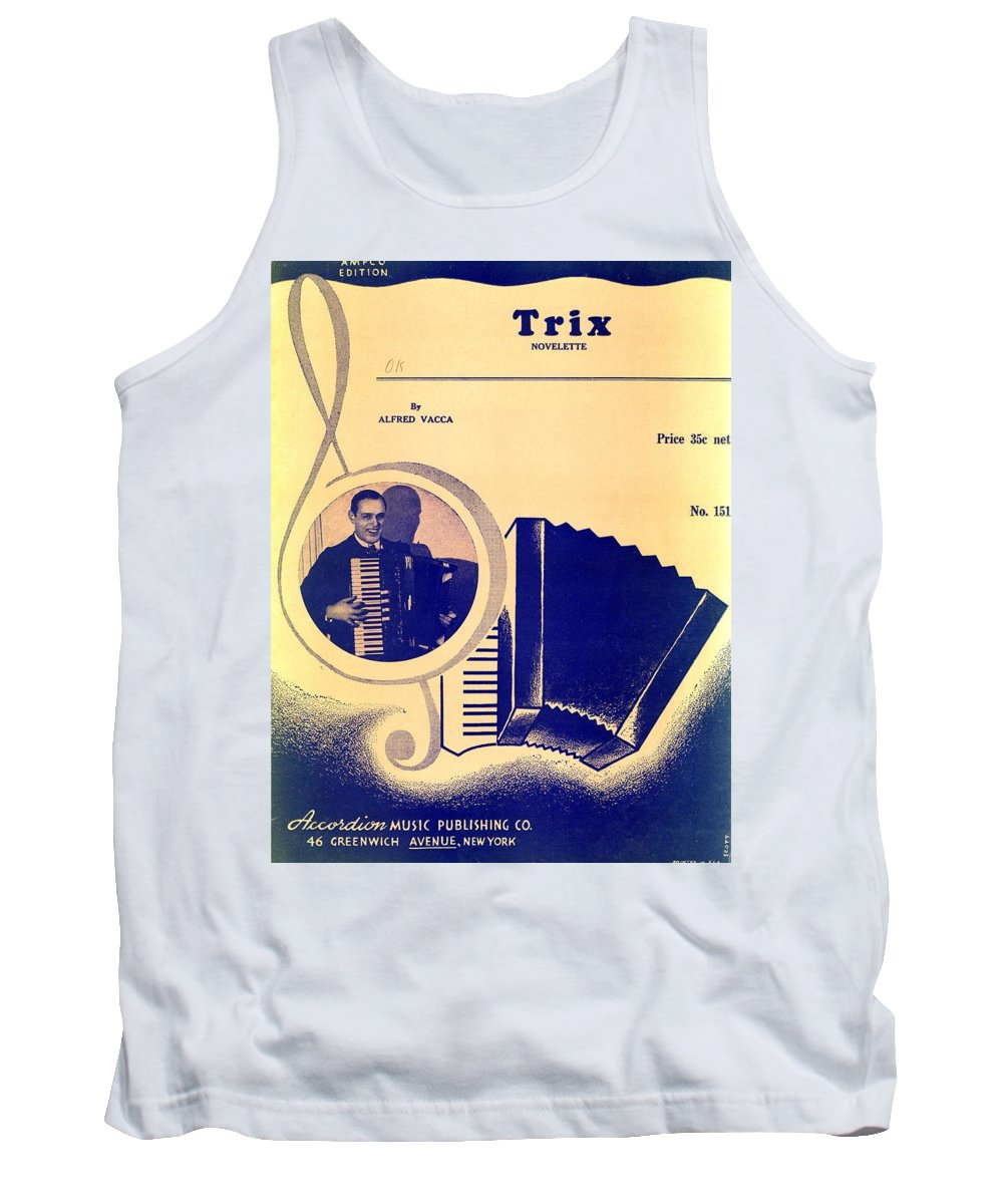 Nostalgia Tank Top featuring the photograph Trix by Mel Thompson