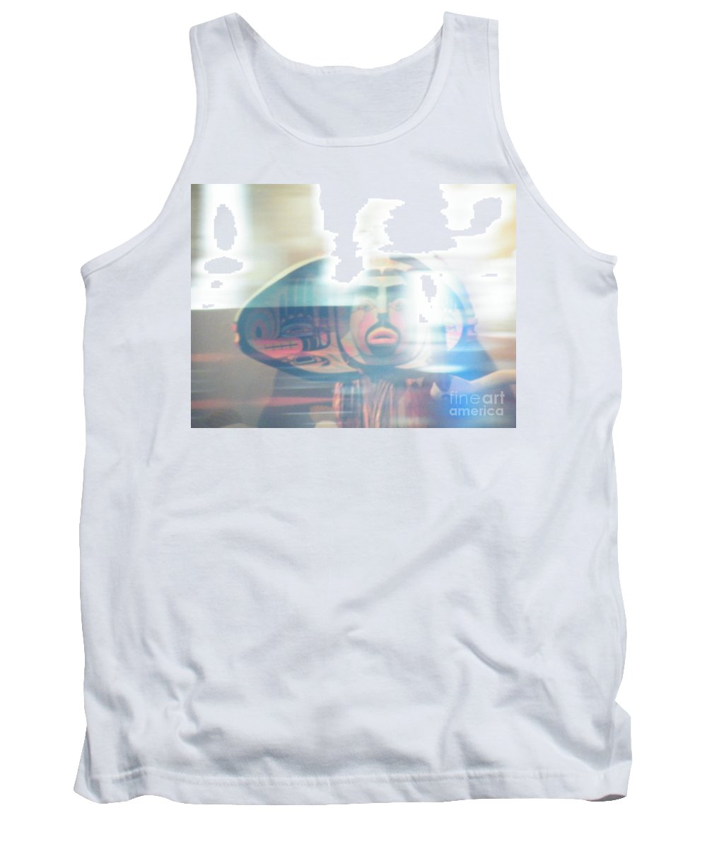 Urban Tank Top featuring the photograph Urban Indian Symbolism Number 5 by Brian Boyle