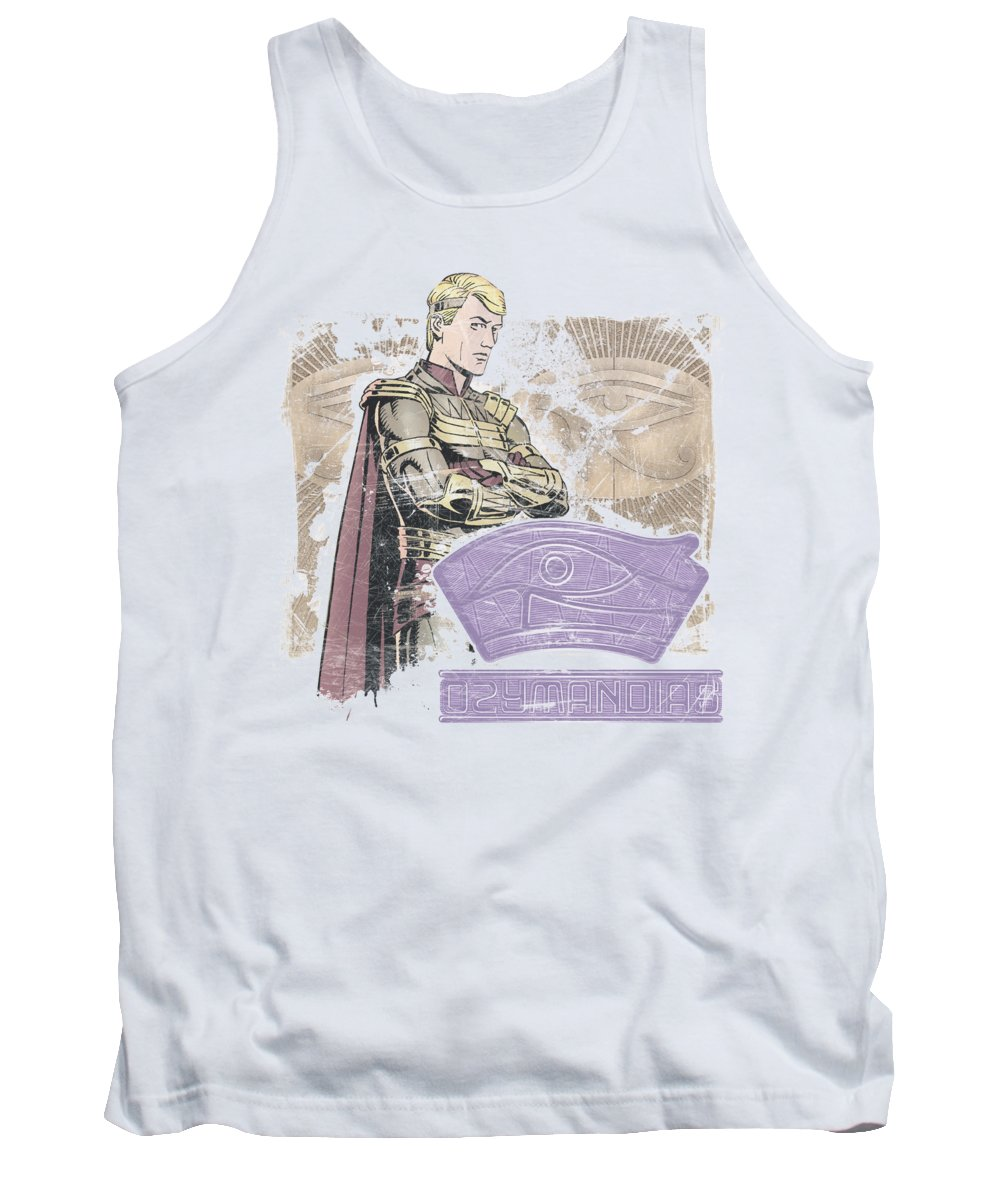 The Watchmen Tank Top featuring the digital art Watchmen - Ozymandias by Brand A