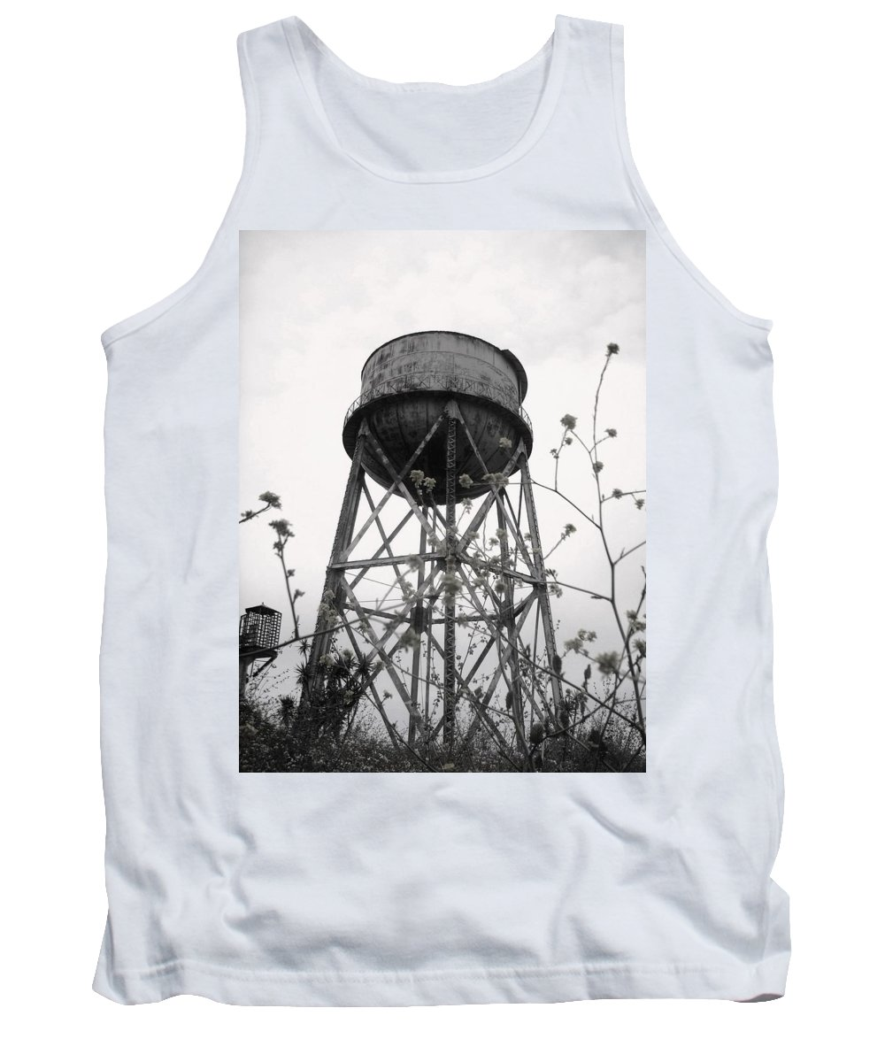 Watertower Tank Top featuring the photograph Water Tower by Michael Grubb