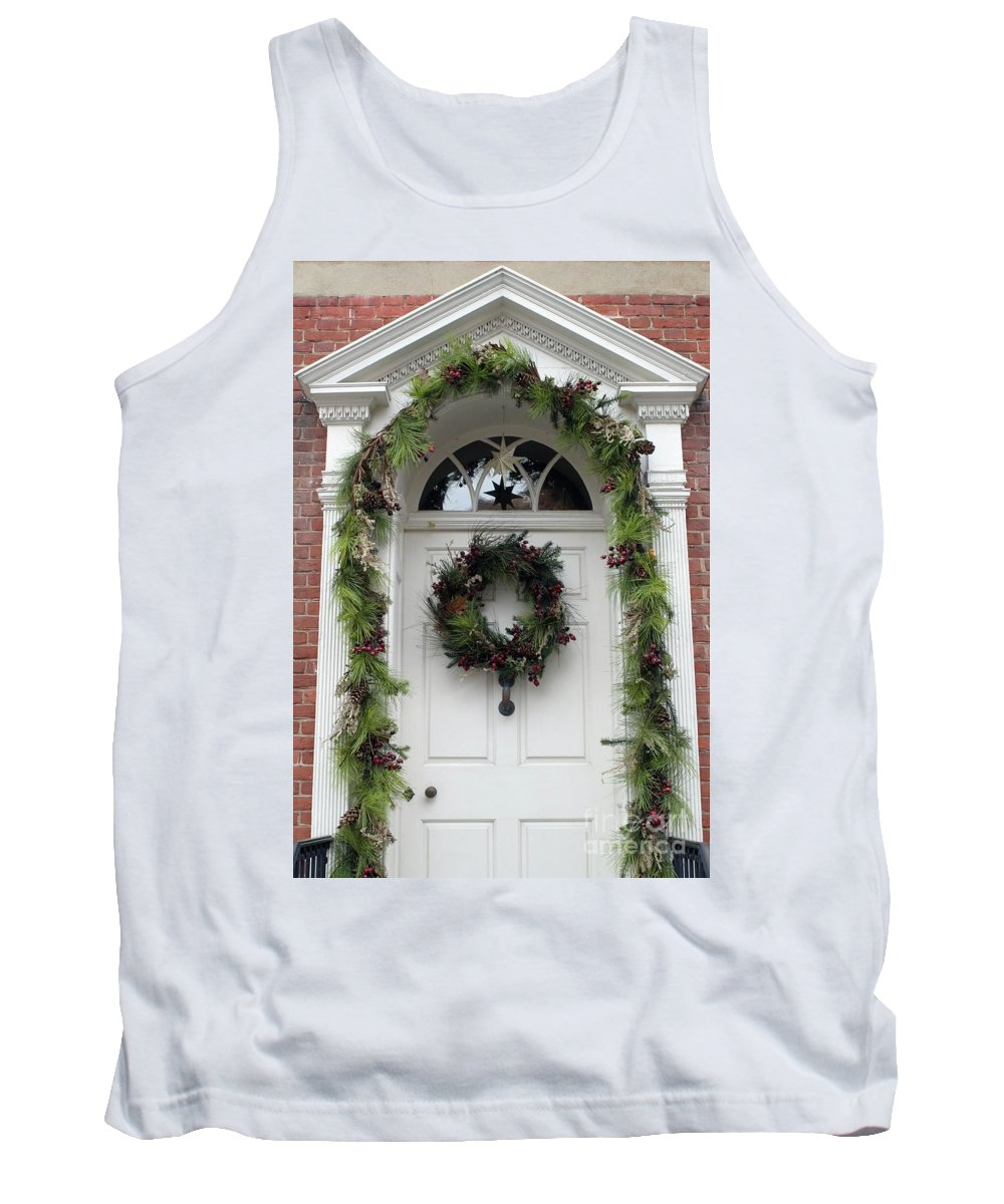 Door Tank Top featuring the photograph Welcome by Living Color Photography Lorraine Lynch