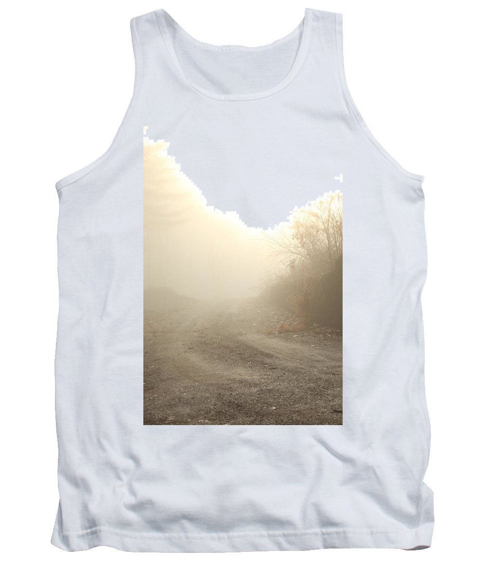 Road Tank Top featuring the photograph Where Does The Road Lead by Karol Livote