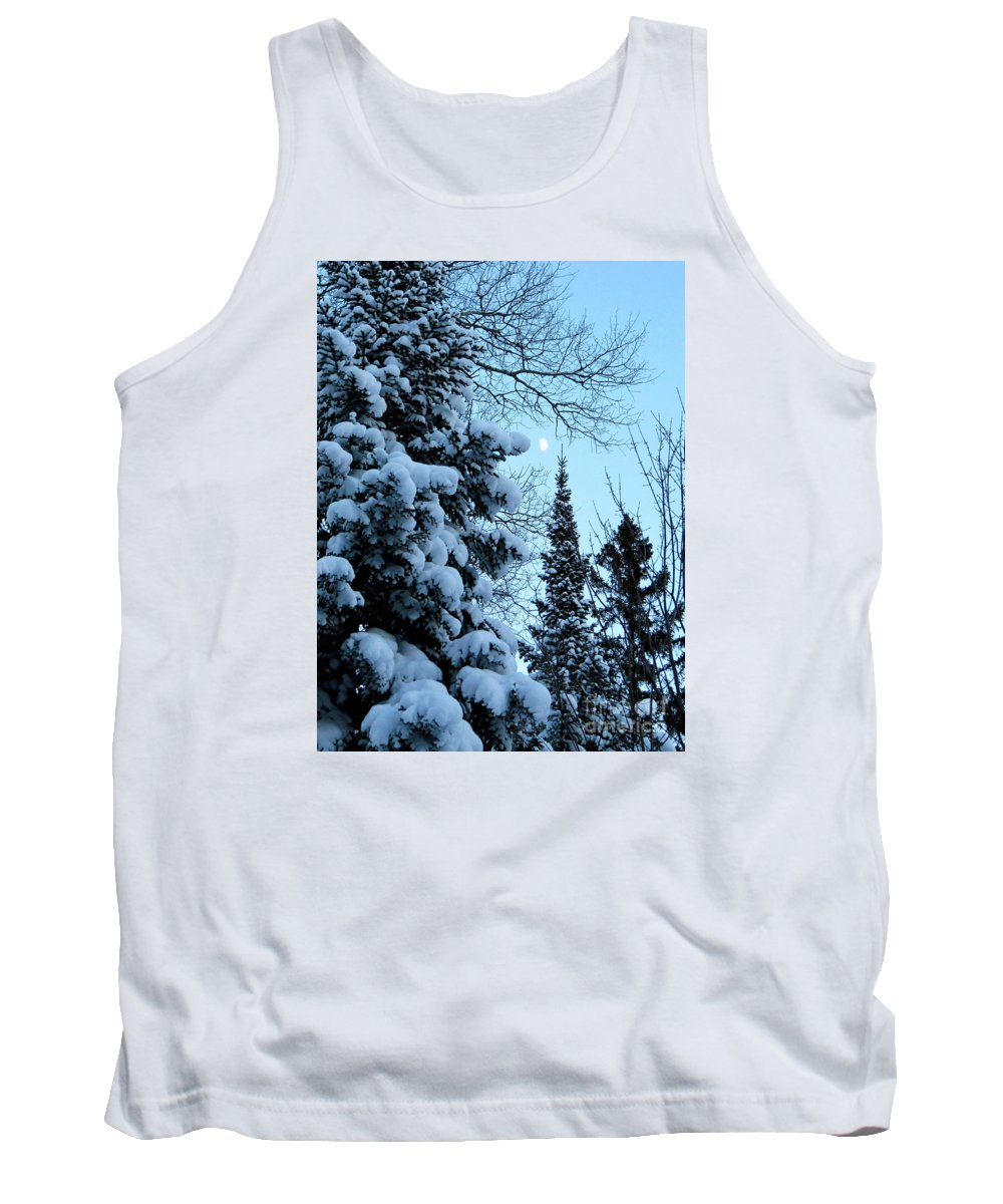Winter Tank Top featuring the photograph Winter Day by Jaunine Roberts