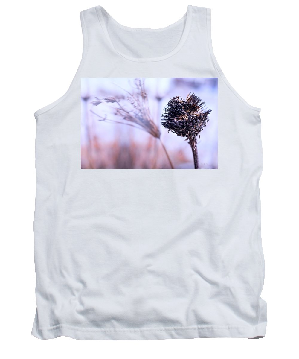 Flowers Tank Top featuring the photograph Winter Flowers by Bob Orsillo