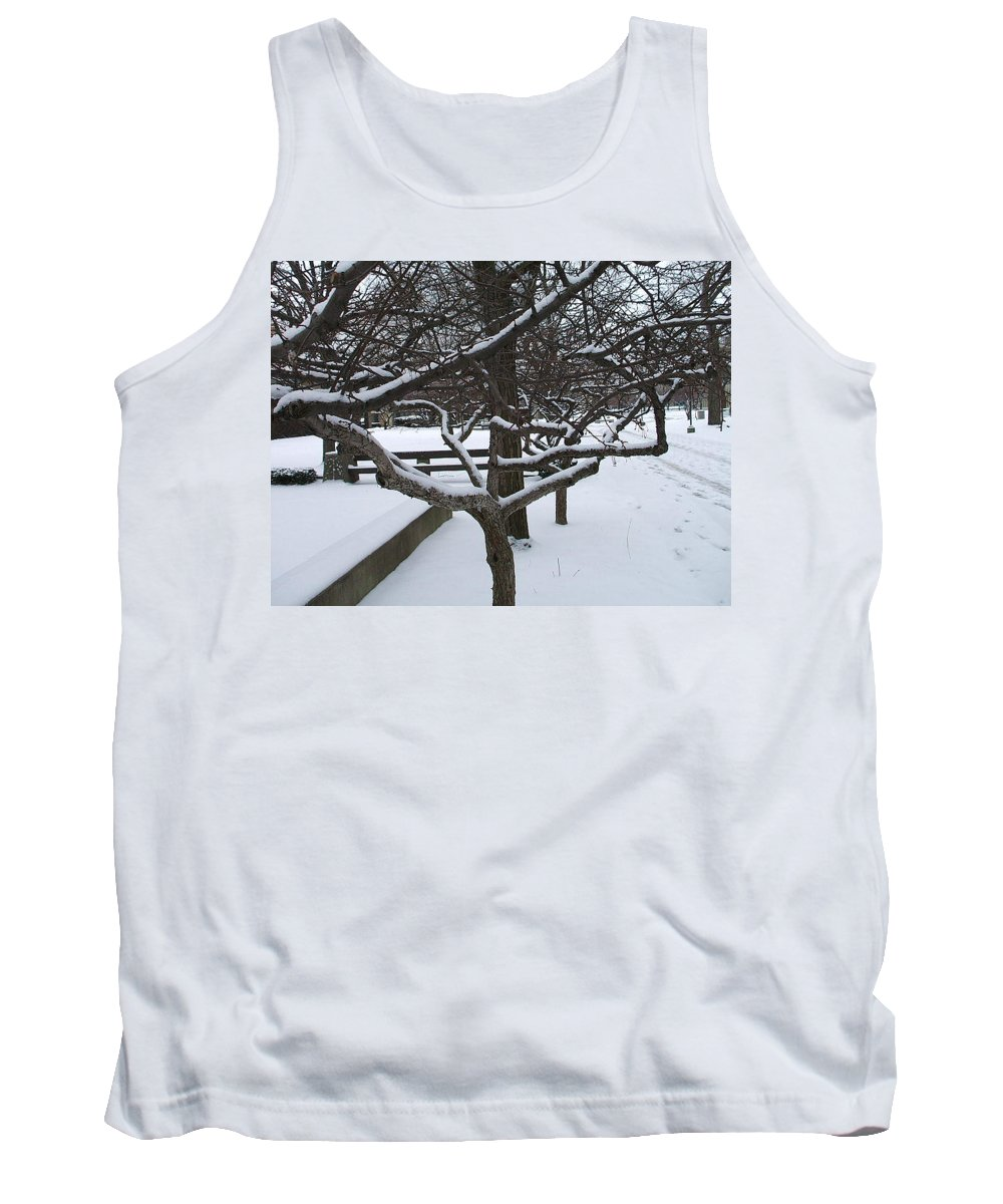 Landsape Tank Top featuring the photograph Winter by Jo Dawkins