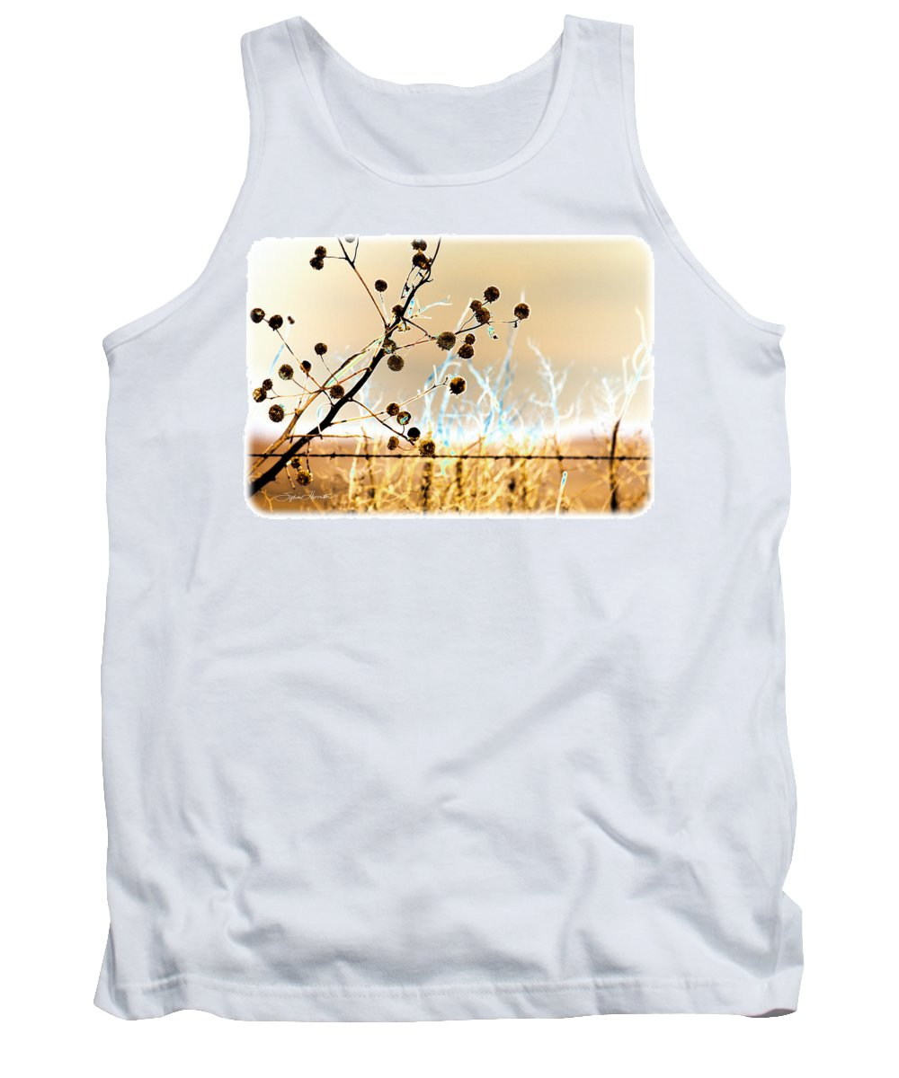 Winter Tank Top featuring the photograph Winter Prairie by Sylvia Thornton