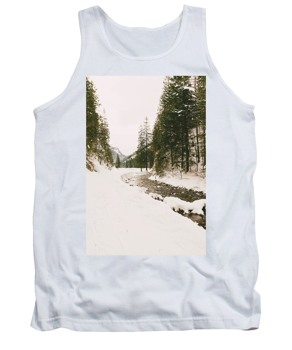 Beautiful Tank Top featuring the photograph Winterscape by Pati Photography