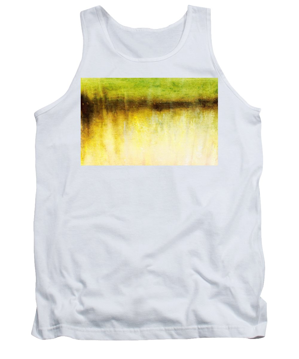 Brett Tank Top featuring the digital art Wither Whispers I by Brett Pfister