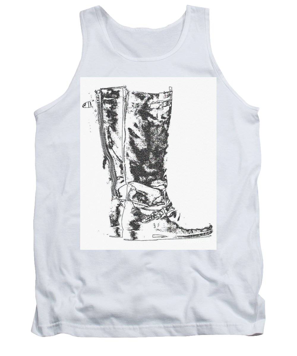 Female Tank Top featuring the photograph Worn Well by Alan Look