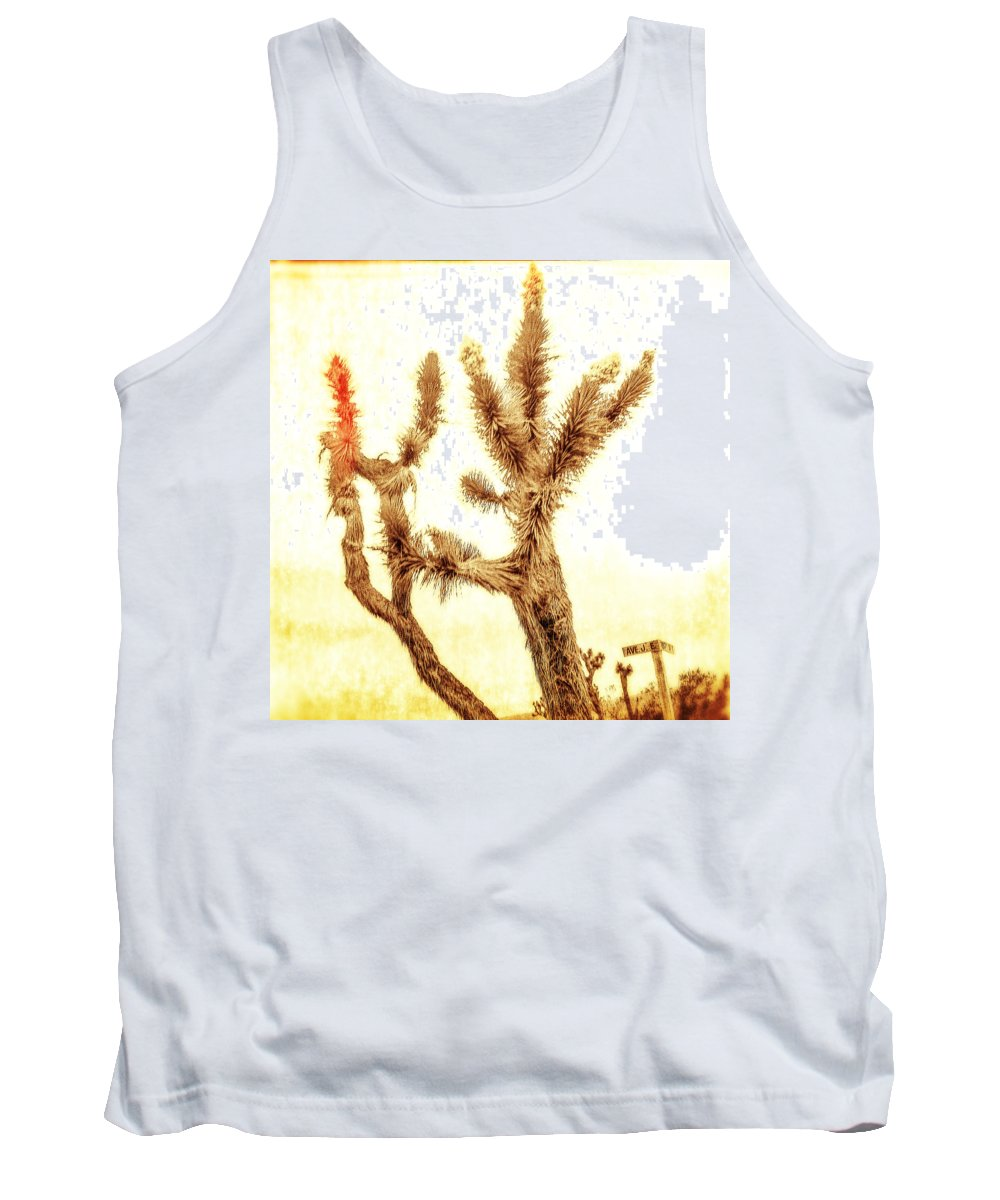 Dry Tank Top featuring the photograph Yucca At Ave. J And 187 St. by YoPedro