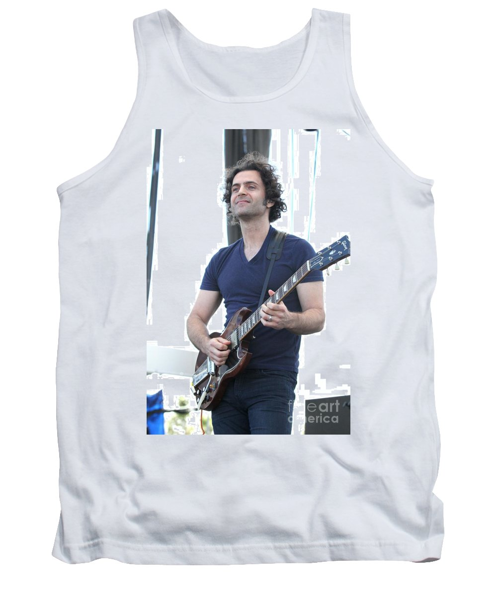 Singer Tank Top featuring the photograph Zappa Plays Zappa by Concert Photos