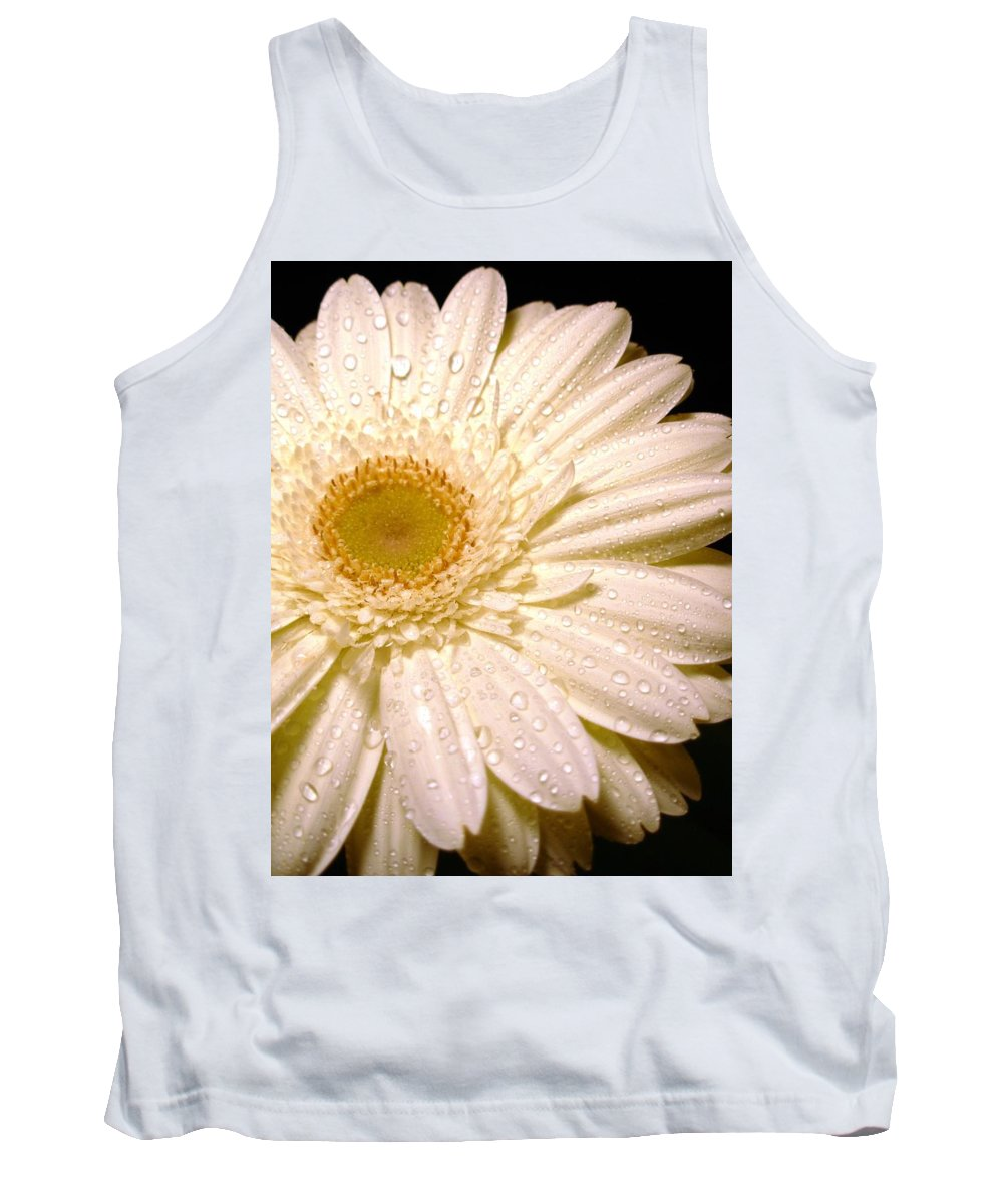 Gerbera Photographs Tank Top featuring the photograph 0878.2.1 by Kimberlie Gerner
