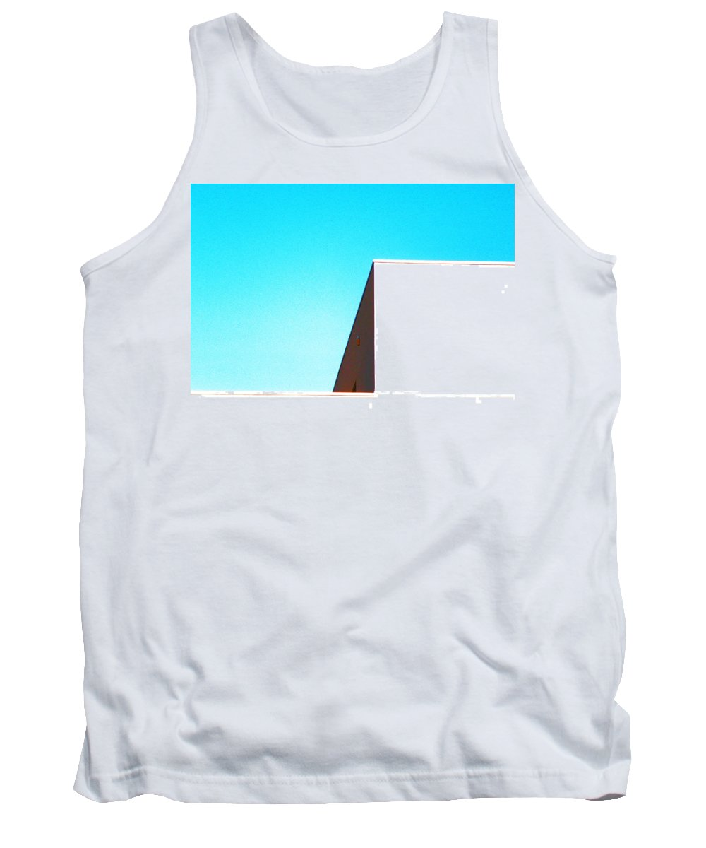Abstract Tank Top featuring the photograph Architecture 4 by Lenore Senior