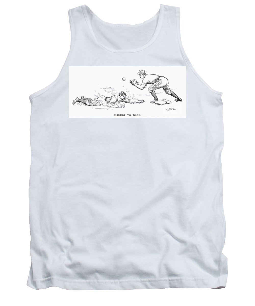 1889 Tank Top featuring the photograph Baseball Players, 1889 by Granger