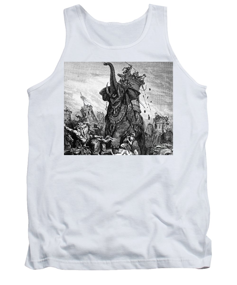 2nd Century B.c Tank Top featuring the photograph Death Of Eleazar by Granger