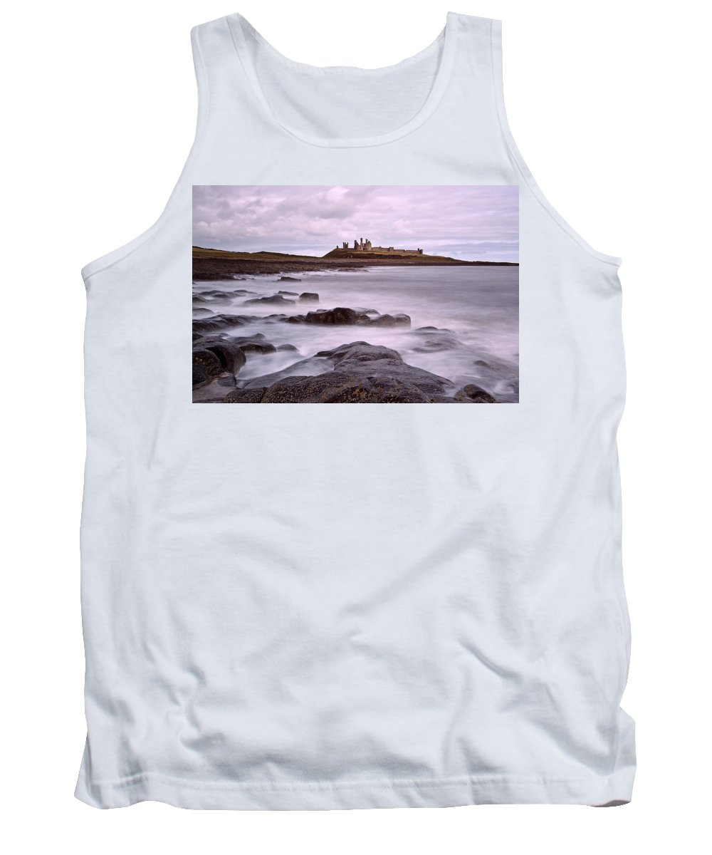 Dunstanburgh Castle Tank Top featuring the photograph Dunstanburgh Castle by David Pringle