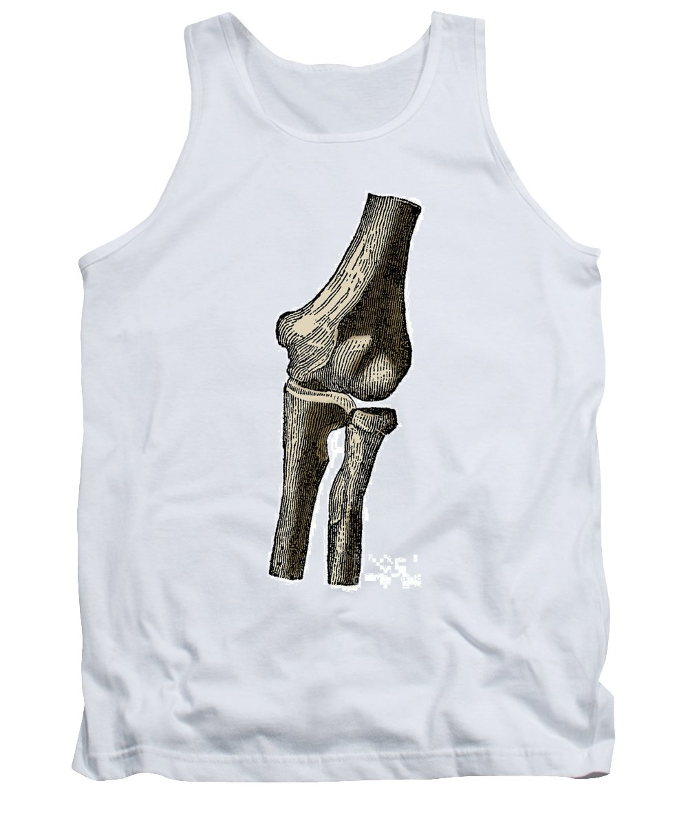 Human Tank Top featuring the photograph Elbow Joint by Science Source