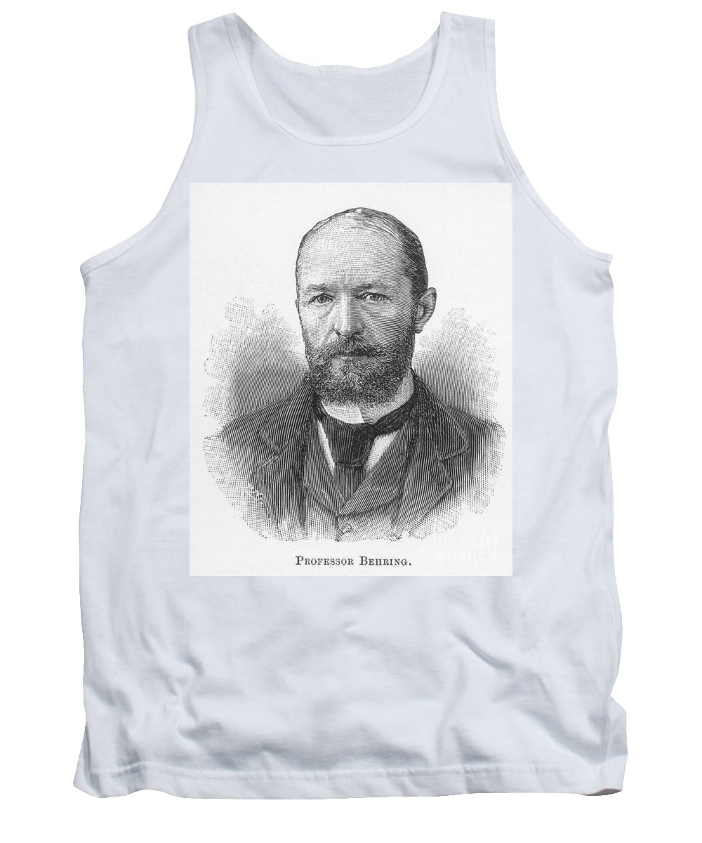 19th Century Tank Top featuring the photograph Emil Von Behring (1854-1917) by Granger