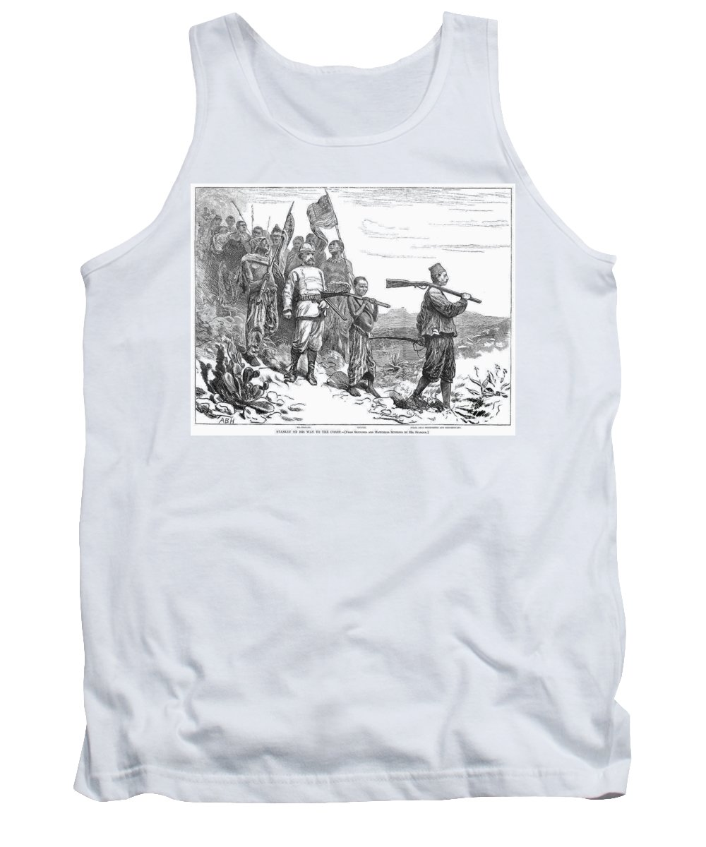 1872 Tank Top featuring the photograph Henry Morton Stanley by Granger