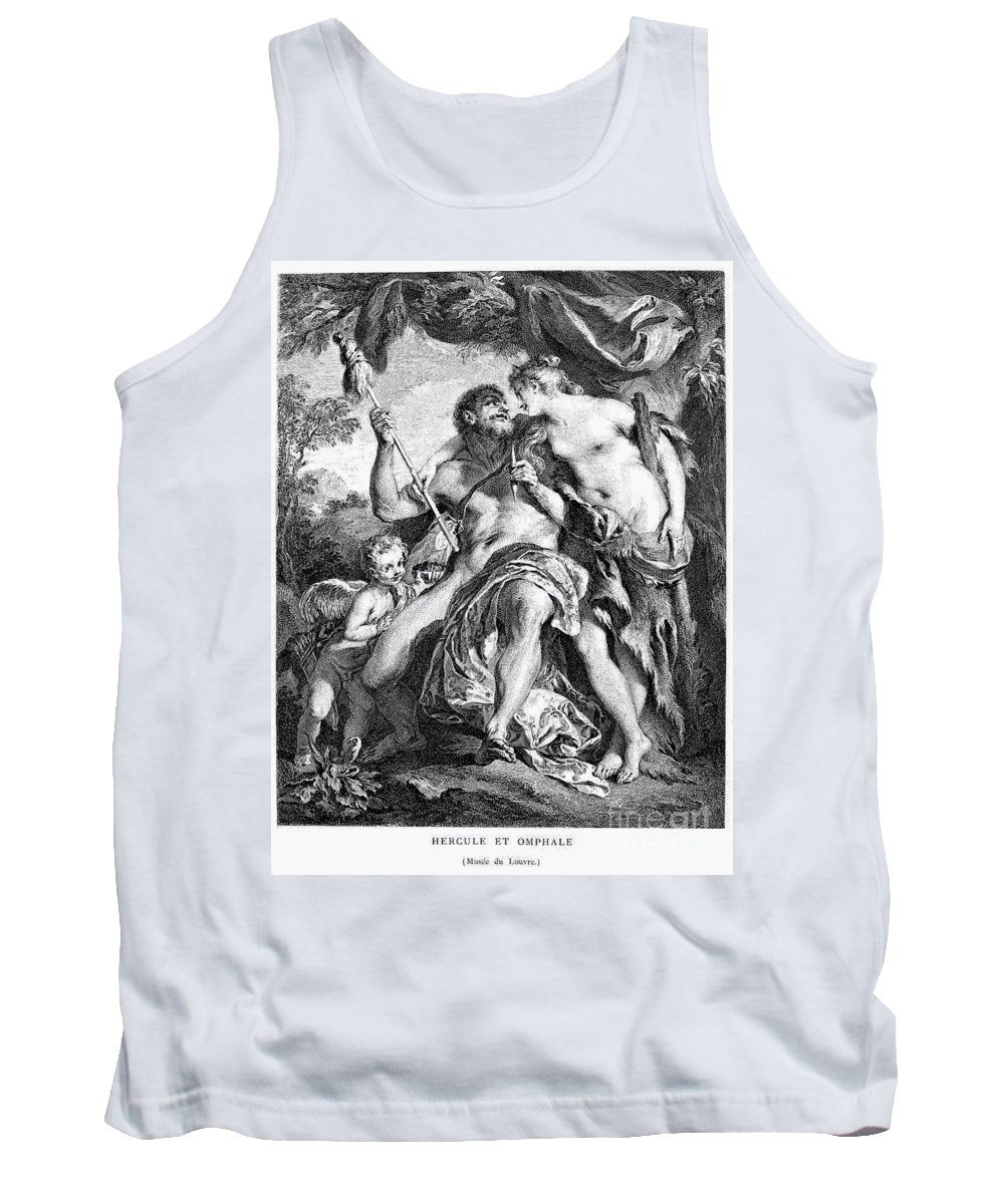 Ancient Tank Top featuring the photograph Hercules And Omphale by Granger