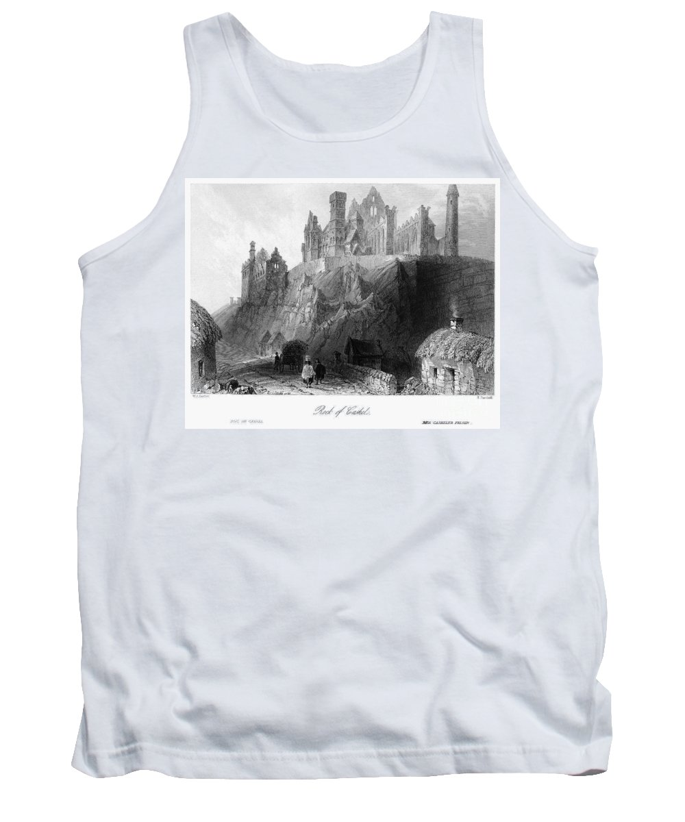 1840 Tank Top featuring the photograph Ireland: Rock Of Cashel by Granger