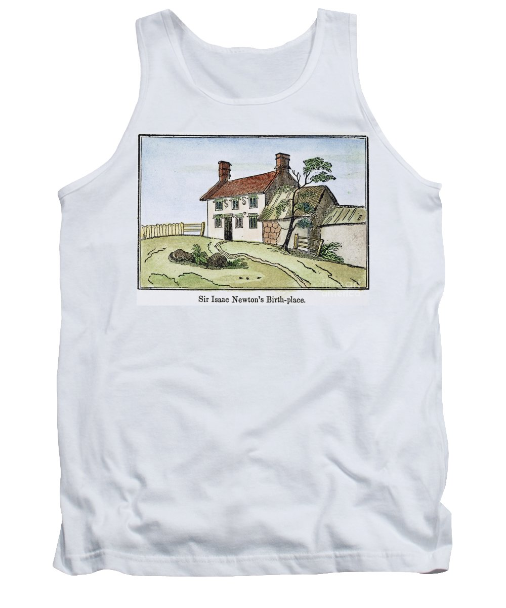 Birthplace Tank Top featuring the photograph Isaac Newton Birthplace by Granger