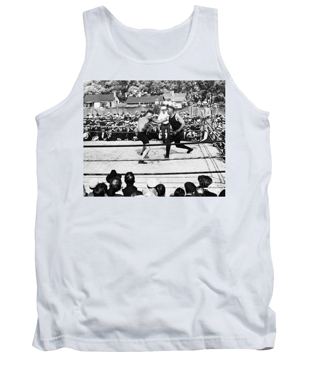 1919 Tank Top featuring the photograph Jack Dempsey (1895-1983) by Granger